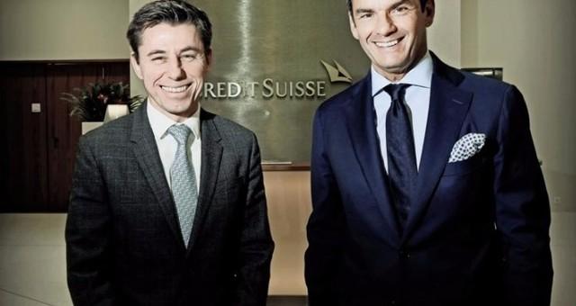 Deux ex-apprentis aux manettes de Credit Suisse